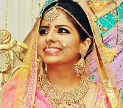 Best Bridal Makeup artist in Lucknow